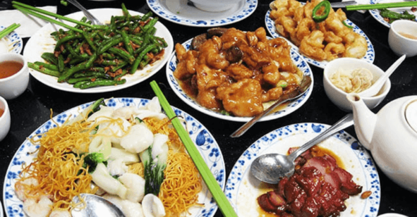 Chinese Foods on the Table (Food Trivia)