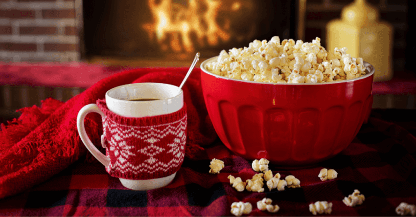Popcorn With Soup